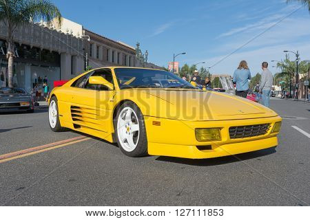 Ferrari Testarossa On Display