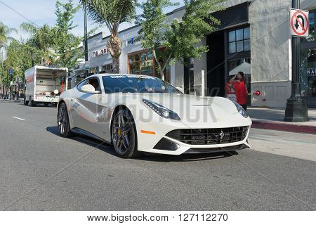 Ferrari F12Berlinetta On Display
