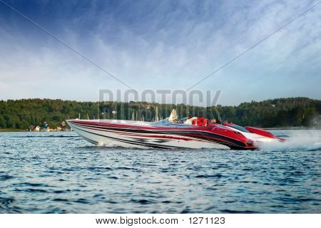 Luxury Speedboat