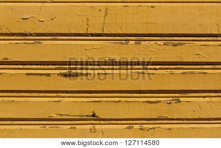 Orange Weathered Wooden Wall Texture.