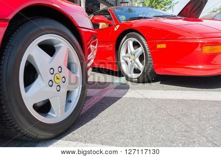 Ferrari Wheels And Rims  On Detail