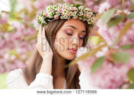 Gorgeous Spring Woman.