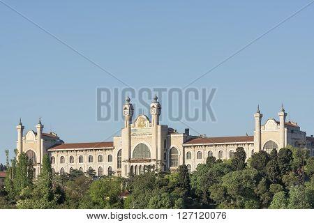 Exterior Shot Of Marmara University Haydarpasa Campus, Istanbul, Turkey