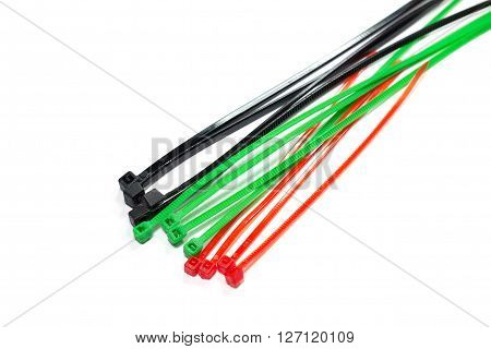 A cable tie or tie-wrap also known as a hose tie or zip tie