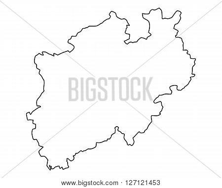 Map Of Northrhine-westphalia