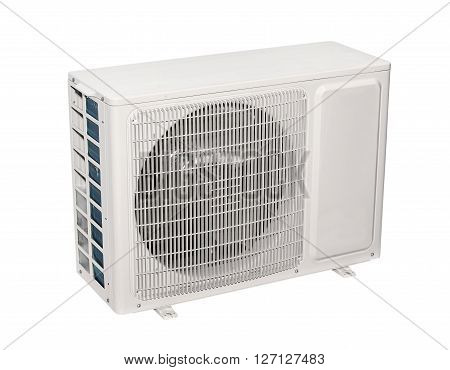 Air conditioner, split system isolated on white background