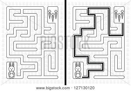 Easy Rabbit Maze