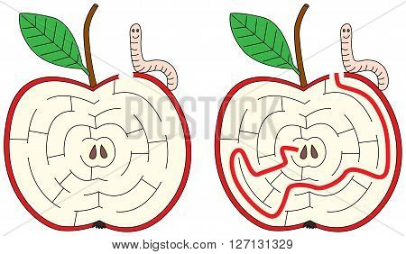 Apple Maze
