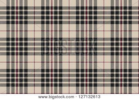 Blackberry tartan seamless pattern vector illustration plaid