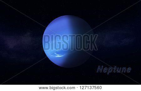 Blue Giant Neptune