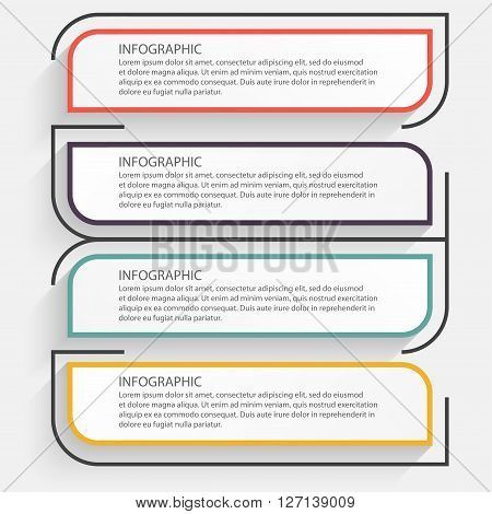 Vector Colorful Info Graphics For Your Business Presentations.