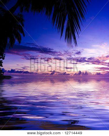 Sunset Palace der göttlichen Natur