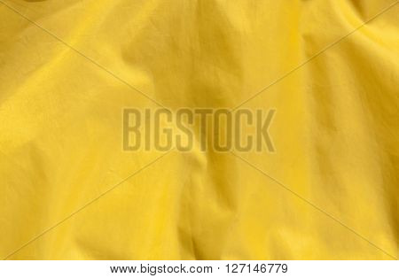 Abstract Yellow Textile Background.