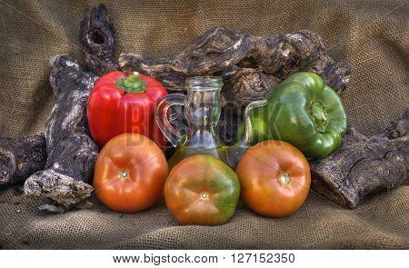 rustic vegetable