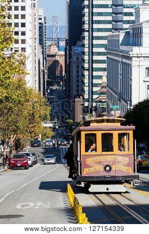San Francisco, California - September 17, 2015