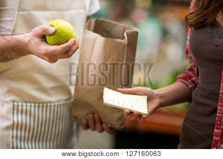 check checking list customer for market