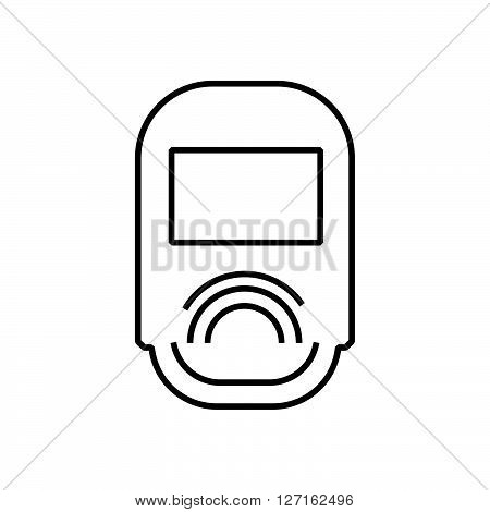 Line Icon Medical Device Icon, Diabetes Icon