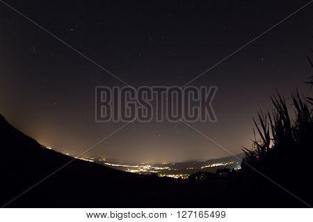 Meteor Night Sky, August 2015, Switzerland