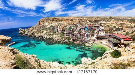 famous Popeye village in Malta