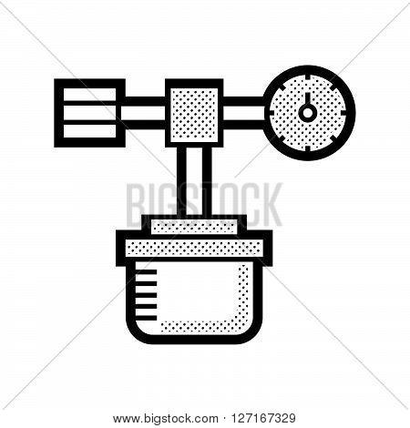 Medical Device Icon oxygen cylinder vector design EPS10.