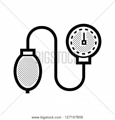 Medical Device Icon Check pressure vector design EPS10.