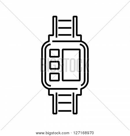 line icon Medical Device Icon Diabetes Watch