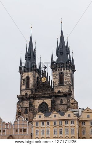 Church Of Mother Of God In Prague