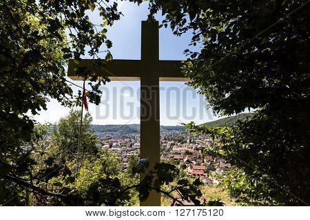Views From The Mountain Sulperg To Wettingen