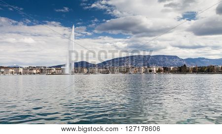 Views Of Geneva On April 11, 2015