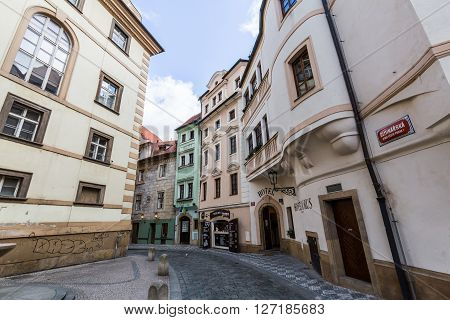 Exterior Views Of Buildings In Prague