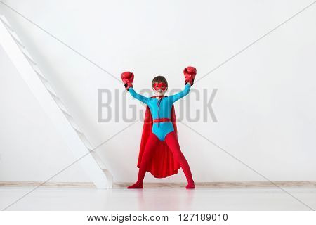 Winner. Kid Super Hero.