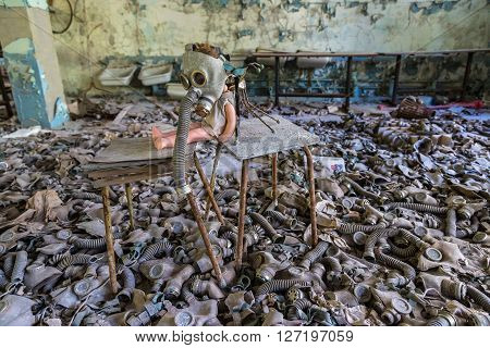 Creepy Doll In Pripyat, Chernobyl
