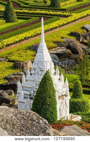 Nong Nooch Tropical Garden in Pattaya Thailand.