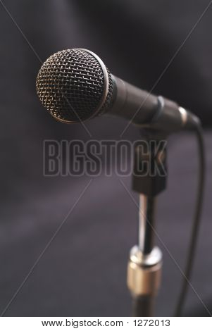 Mic On Stand 1
