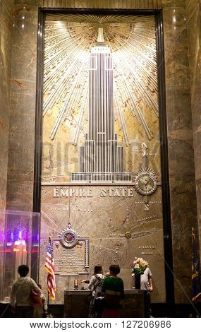 The Empire State Building Entrance Hall