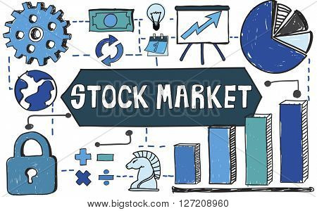 Stock Market Money Investment Finance Concept