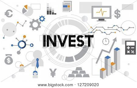 Invest Investment Financial Income Profit Costs Concept