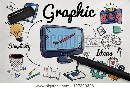 Graphic Visual Art Creative Design Concept