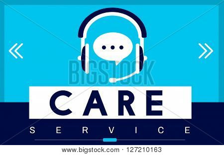 Care Service Welfare Help Attend Concept