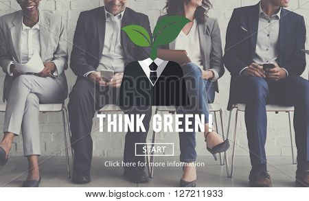 Sustainability Think Green Ecology Environment Concept