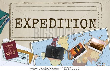 Expedition Travel Journey Life Trip Concept