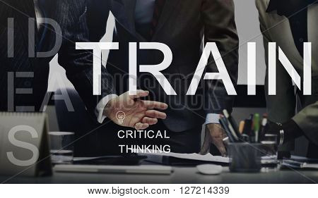 Train Training Studying Education Ability Learning Concept
