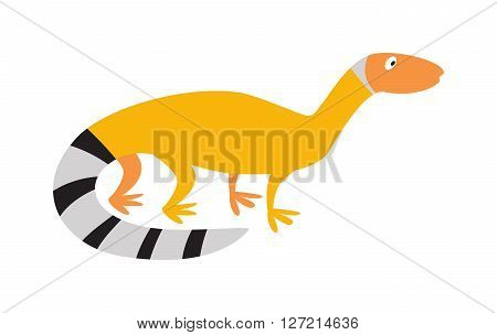 Chinese water dragon lizard nature animal reptile cartoon silhouette vector illustration. Wild dragon lizard and lizard art zoo cartoon salamander. Silhouette dragon lizard reptile chameleon.