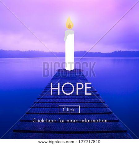 Hope Belief Believe Imagine Praying Trust  Concept