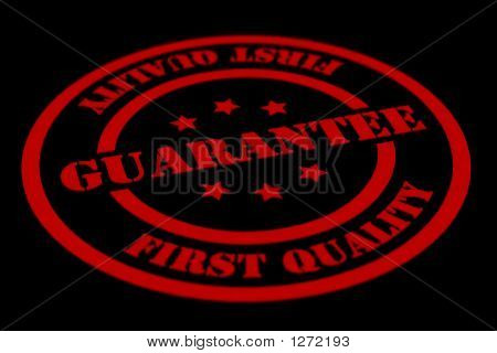 Guarantee Label