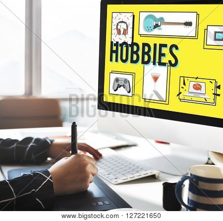 Hobby Free Time Leisure Media Concept