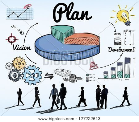 Plan Ideas Development Graph Concept