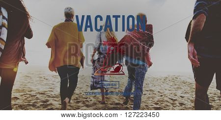 Vacation Travel Relaxation Break Concept
