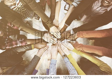 Diverse and Casual People and Togetherness Concept