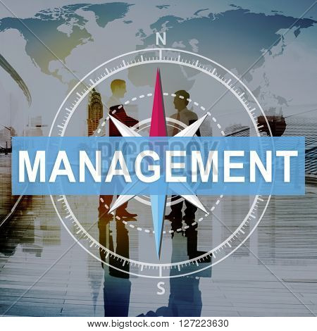 Management Manage Business Corporate Planning Concept